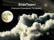 Moon Night Nature PowerPoint Templates And PowerPoint Backgrounds ppt