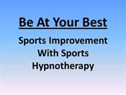 Sports Improvement With Sports Hypnotherapy