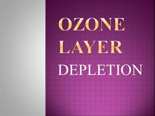 ozone layer depletion project download
