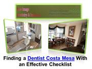 Dentist Costa Mesa