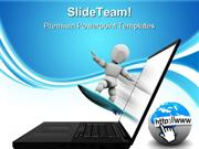 Net Surfing Internet PowerPoint Templates And PowerPoint Backgrounds p