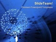 Network Abstract PowerPoint Templates And PowerPoint Backgrounds pgrap