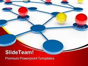 Networking Communication PowerPoint Themes And PowerPoint Slides ppt l