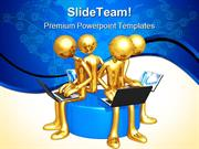 Network Workgroup Internet PowerPoint Themes And PowerPoint Slides ppt