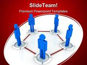 Networking Communication PowerPoint Templates And PowerPoint Backgroun