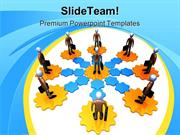 Networking Global Business PowerPoint Themes And PowerPoint Slides ppt