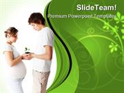 New Born Concept Family PowerPoint Templates And PowerPoint Background