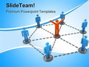 Networking Leadership PowerPoint Templates And PowerPoint Backgrounds