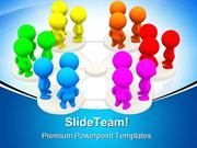 Networking People Communication PowerPoint Templates And PowerPoint Ba