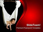 Newborn Baby PowerPoint Templates And PowerPoint Backgrounds ppt slide