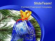 New Year Gift Festival PowerPoint Templates And PowerPoint Backgrounds