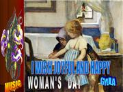 WOMANS DAY nőnap