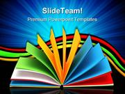 Notebook Education PowerPoint Templates And PowerPoint Backgrounds ppt