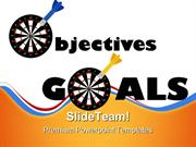 Objectives And Goals Success PowerPoint Templates And PowerPoint Backg