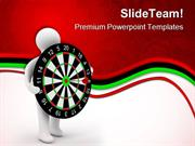 On Target Dart Game PowerPoint Templates And PowerPoint Backgrounds pp
