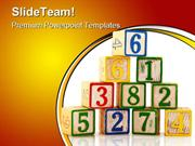 Old Educational Blocks Education PowerPoint Templates And PowerPoint B