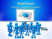 On Screen Presentation Business PowerPoint Templates And PowerPoint Ba