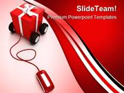 Online Christmas Shopping Internet PowerPoint Templates And PowerPoint