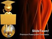 Online Graduate Concept Education PowerPoint Templates And PowerPoint