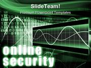 Online Security PowerPoint Templates And PowerPoint Backgrounds 0211