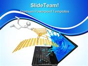 Online Shopping Internet PowerPoint Templates And PowerPoint Backgroun