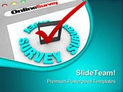 Online Survey Technology PowerPoint Templates And PowerPoint Backgroun