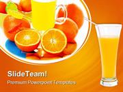 Orange Juice Food PowerPoint Templates And PowerPoint Backgrounds ppt