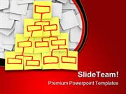 Organizational Chart Business PowerPoint Templates And PowerPoint Back