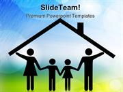Parents And Children Family PowerPoint Templates And PowerPoint Backgr