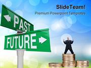 Past And Future Finance PowerPoint Templates And PowerPoint Background