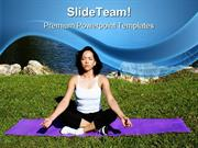 Peace Yoga Health PowerPoint Templates And PowerPoint Backgrounds ppt