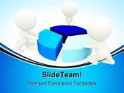 People Around Pie Chart Business PowerPoint Templates And PowerPoint B