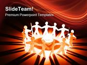 People Holding Hands Global PowerPoint Themes And PowerPoint Slides pp
