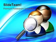 People Search Icon Business PowerPoint Templates And PowerPoint Backgr