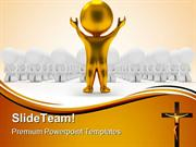 People Worship Religion PowerPoint Templates And PowerPoint Background