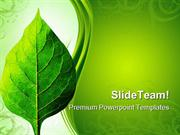 Perfect Leaf Nature PowerPoint Themes And PowerPoint Slides ppt design
