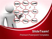 Person Drawing Marketing Plans Business PowerPoint Templates And Power
