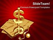 Person Under Credit Finance PowerPoint Themes And PowerPoint Slides pp