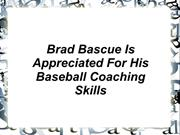 Brad Bascue  Coaching Skills