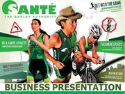 Sante Product and Business Presentation