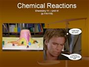 Chem11 BDL Ch 7 Chemical Reactions