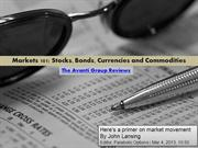 The Avanti Group Reviews Markets 101