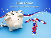 Piggy Bank Savings Future PowerPoint Templates And PowerPoint Backgrou