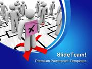 Pink Slip Organization Business PowerPoint Templates And PowerPoint Ba