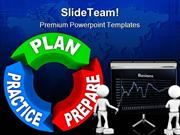 Plan Practice Prepare Business PowerPoint Themes And PowerPoint Slides