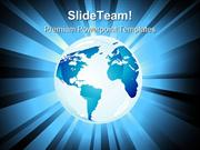 Planet Earth01 Globe PowerPoint Templates And PowerPoint Backgrounds p