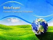Planet Earth Globe PowerPoint Templates And PowerPoint Backgrounds pgr