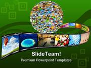 Planet Of Images Globe PowerPoint Templates And PowerPoint Backgrounds