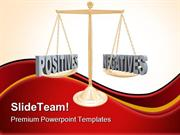 Positive And Negative Law PowerPoint Templates And PowerPoint Backgrou