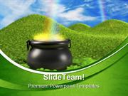 Pot Of Gold Business PowerPoint Templates And PowerPoint Backgrounds p